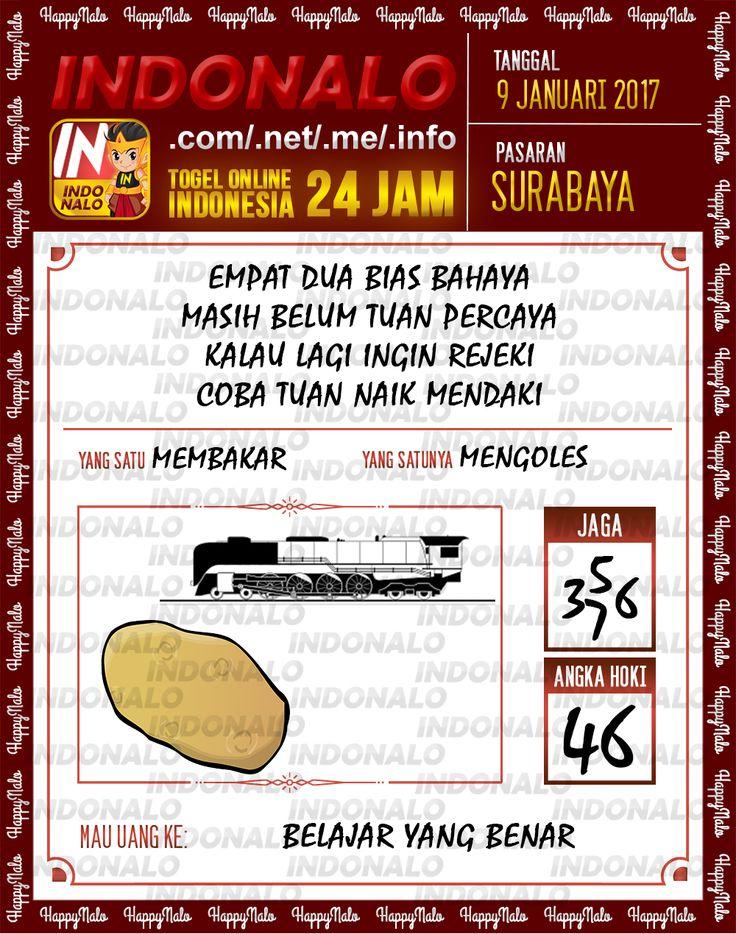 Kode Jaga 6D Togel Wap Online Live Draw 4D Indonalo Surabaya 9 Januari 2017