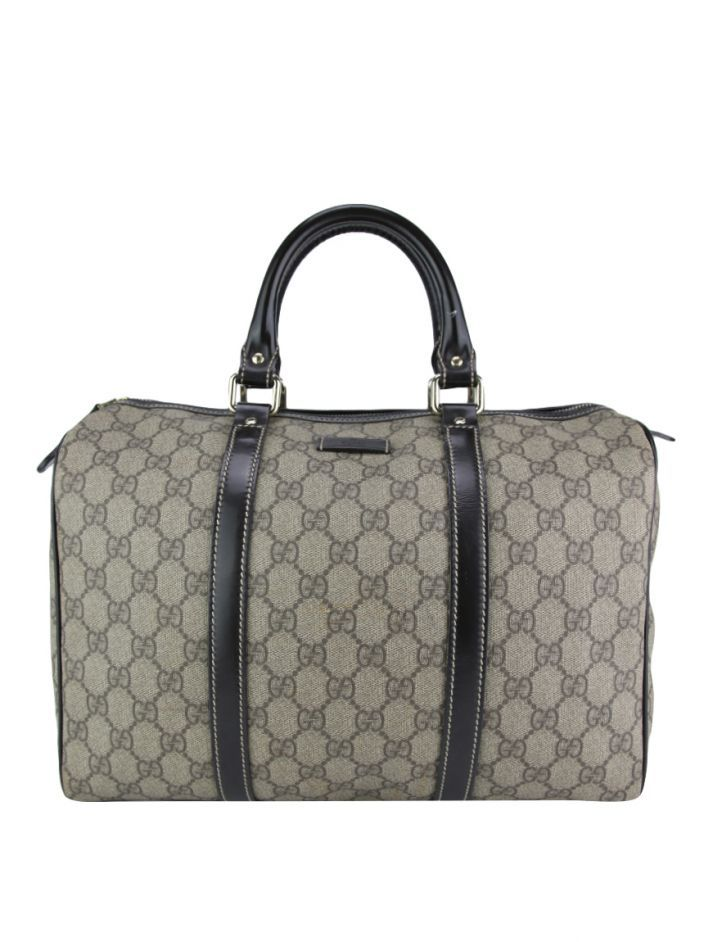 0c346da93 Bolsa Gucci Joy Boston Canvas Guccissima Original. O modelo confeccionado  em canvas com estampa guccissima