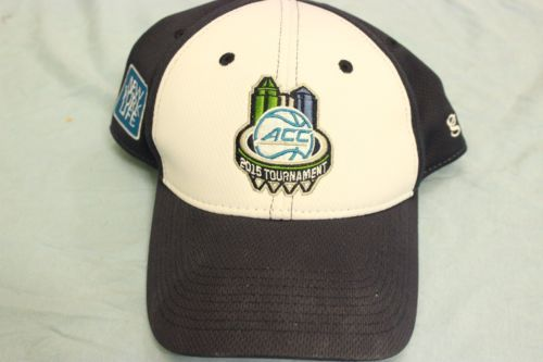 ACC-Basketball-Tournament-Adjustable-Hat-Baseball-Cap-Embroidered-Blue-White