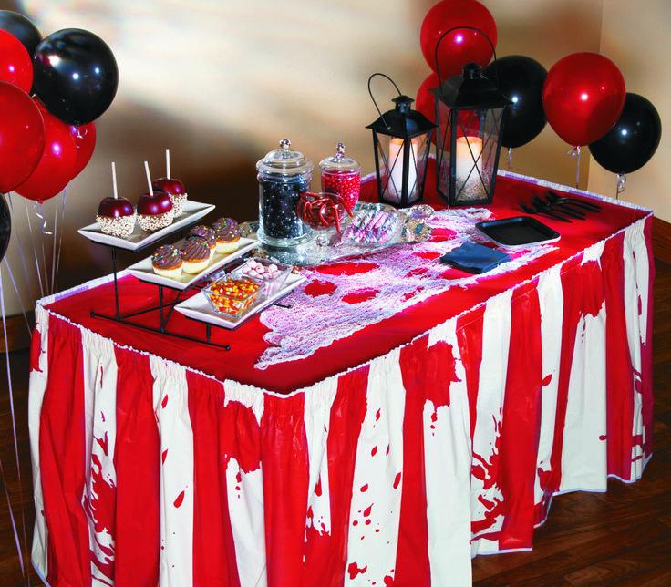 12pack of 10 Popcorn Bags Halloween Paper Big Top Terror Home Movie - halloween office decorating ideas