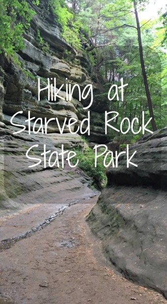 Hiking at Starved Rock State Park- Becoming a Traveling Family