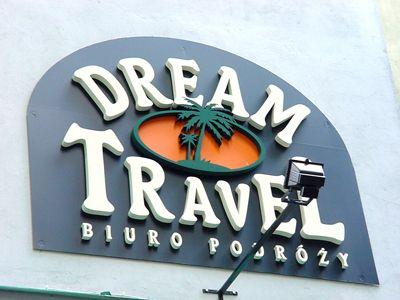 Logo dla biura podróży. Tablice, szyldy - Idea Studio