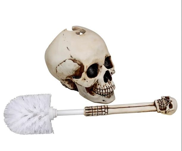 Skull Bathroom Decor For Fun And Entertaining Decor Toilet