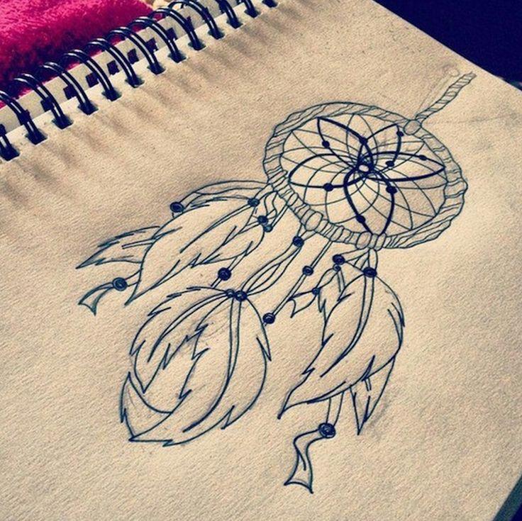155 best images about tatouages on pinterest 50 mariage and origami - Tatouage atrape reve ...