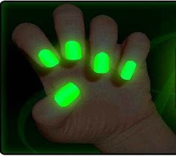 Glow nails for work