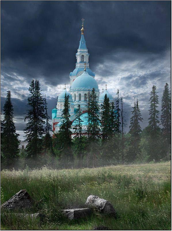 Valaam Monastery, Lake Ladoga, Russia