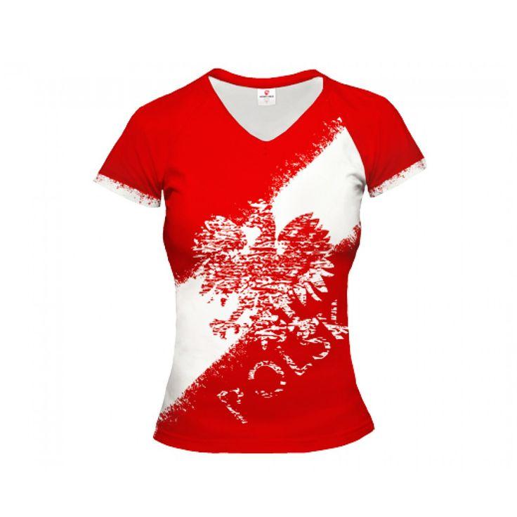 Polska Street Poland Fan T-Shirt | Worldwide Shipping