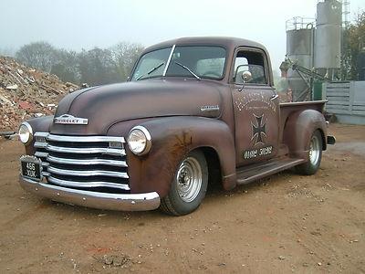 1949 CHEVY 3100 V8 HOT ROD PICK UP