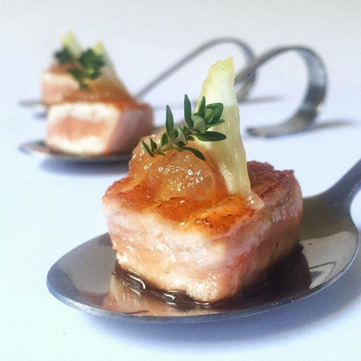 Cubi di salmone al bergamotto - di Monica Bergomi #fuudly #ricette