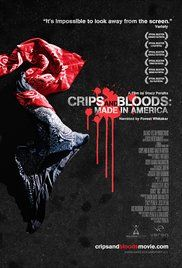 Crips and Bloods: Made in America (2008) With a first-person look at the notorious Crips and Bloods, this film examines the conditions that have lead to decades of devastating gang violence among young African Americans growing up in South Los Angeles.