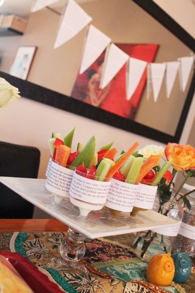 Book Club Ladies Night Party Ideas | Photo 4 of 7 | Catch My Party