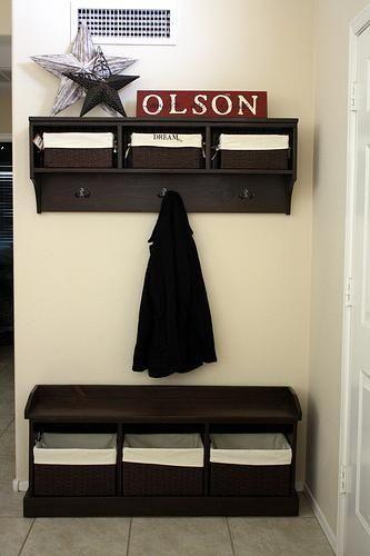 Diy Foyer Storage : Entryway bench storage diy for the home pinterest