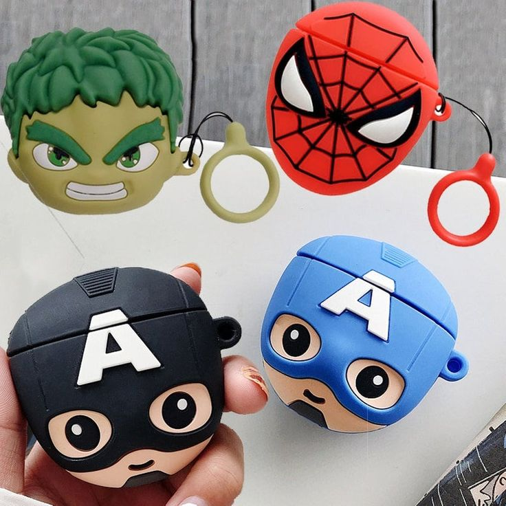 Mould Design, Superhero Design, Air Pods, Airpod Case, Cute Cases, Royal Icing Cookies, Handmade Items, Handmade Gifts, Marvel Characters
