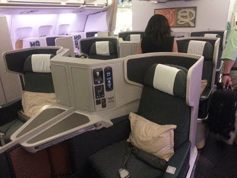 Cathay Pacific Business Class & Lounges, Hong Kong Airport | A Sydney food blog by Thang Ngo