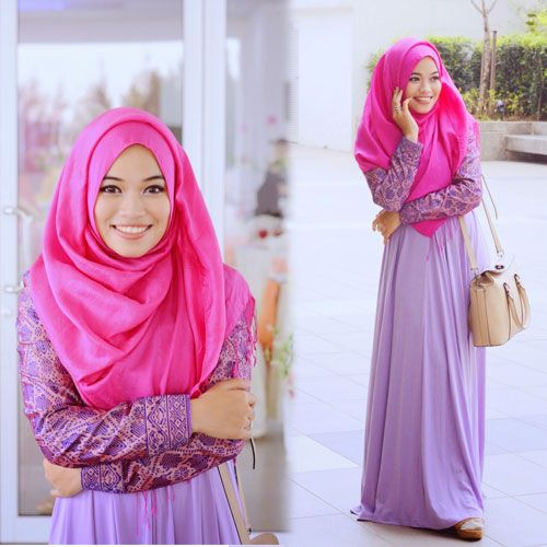 Gaya Hijab Modern 2016 #Hijab #BusanaMuslim #Hijabi #HijabTutorial www.hafana.com