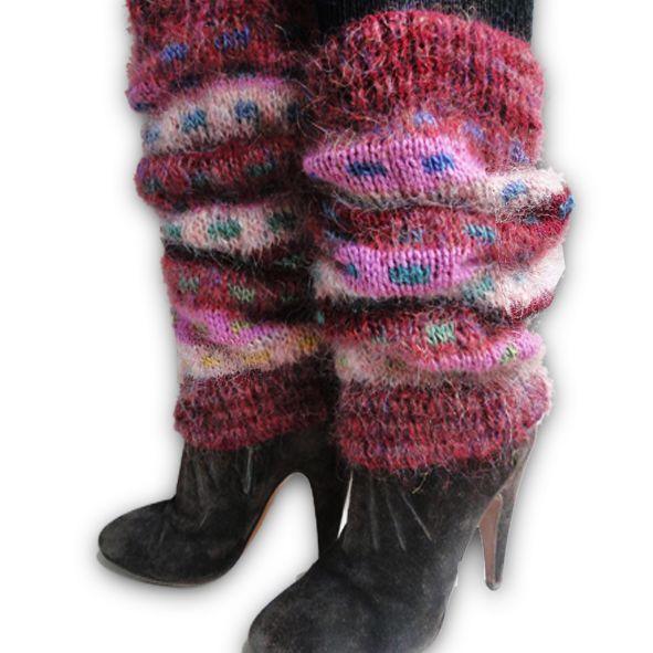 Autumn Leaves - Luxury Leg Warmers