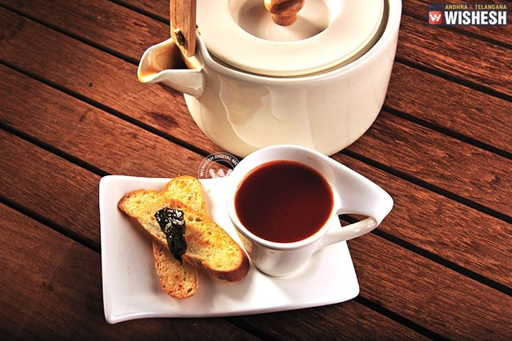 Recipe: Tomato and Jasmine Tea Soup