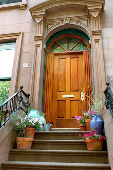 Beautiful Stoops from Brownstone Brooklyn & 15 best stoops images on Pinterest | Balconies Brooklyn brownstone ...