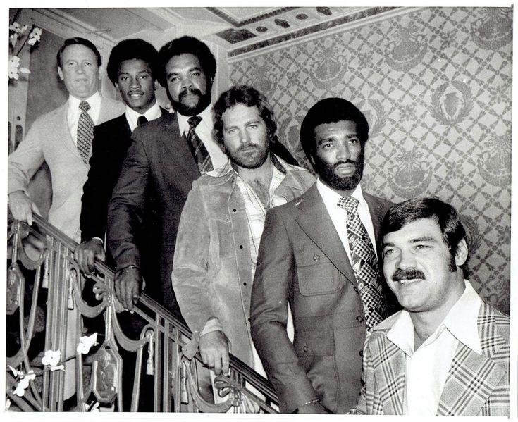 1975 Vintage Photo World Football League Larry Csonka Paul Winfield Calvin Hill | eBay