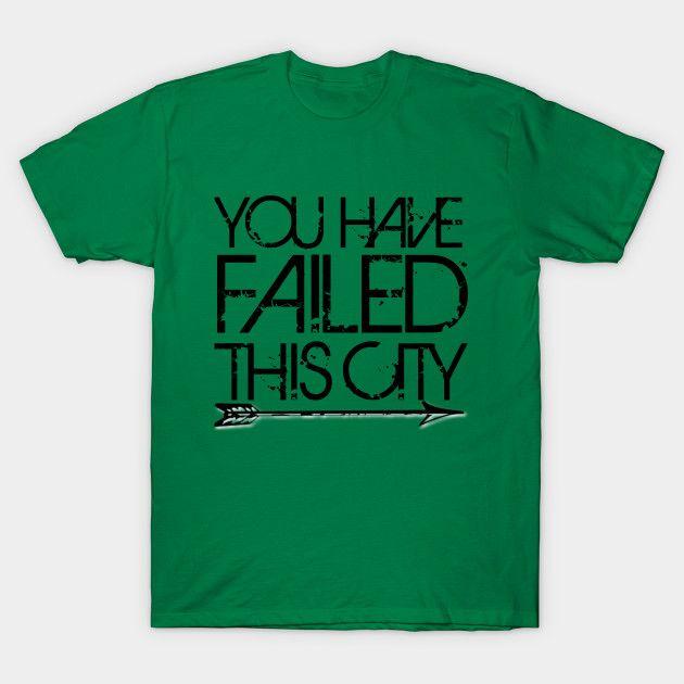 Green Arrow - Failed the City