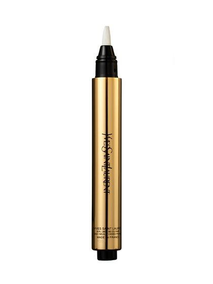 It's a cruel irony: As you age, you have more to conceal, but concealer can draw attention to lines and crepiness. You want a product that hides redness and circles without getting cakey, and that means you want a liquid cover-up in a click pen.