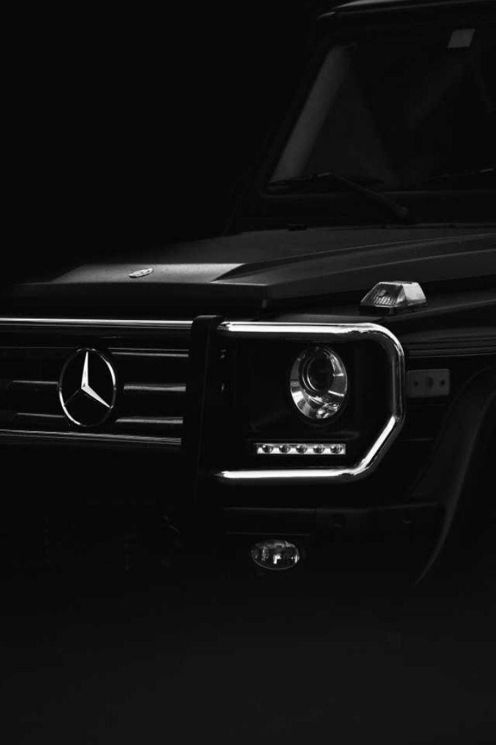 Car Mercedes Black Logo Luxurycar Dark Mondaymotivaton