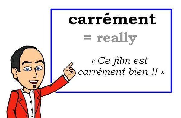 Le mot (familier) du jour : « carrément » [kaʀemɑ̃] #fle #Expressionoftheday #learnfrench #francais Tweets de Media par Les Machin (@Les_Machin) | Twitter
