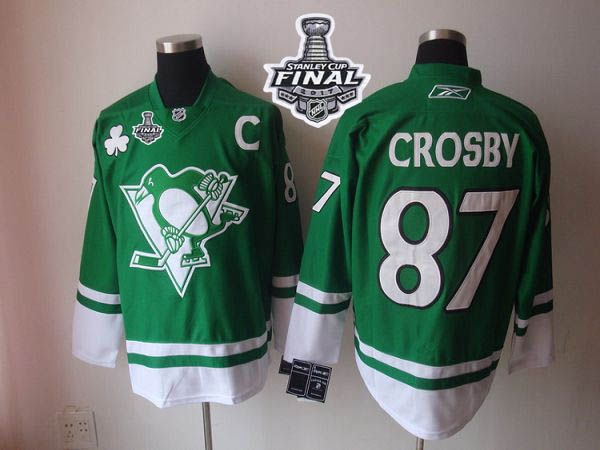 penguins green jersey