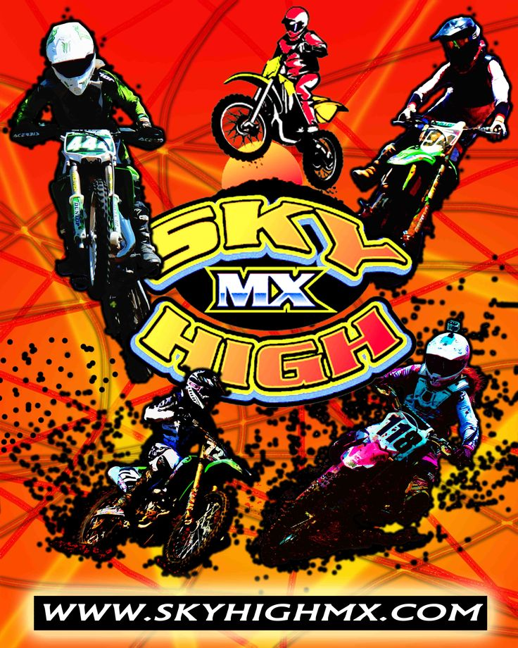 This Graphic was made for Sky High MX Park. Photos by Charley Schoen and Mac Armbruster. Edited by Charley Schoen