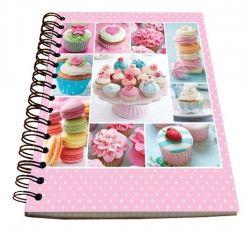 Spirálový blok A5 - Cupcakes č. 21582 SPIR5