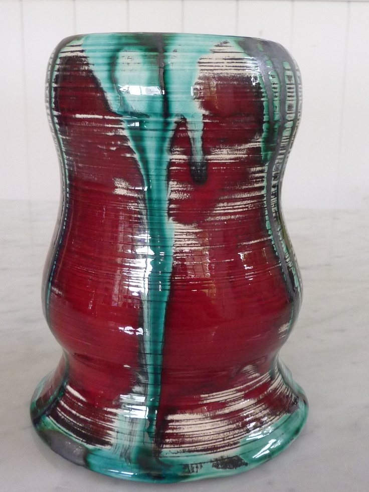 flower´s vaseCecilia Nigro, Flower Vases, Mud Pottery