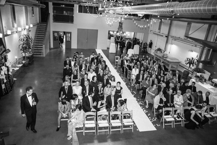 inside wedding ceremony - studio 11 los angeles -repinned from Southern California celebrant https://OfficiantGuy.com