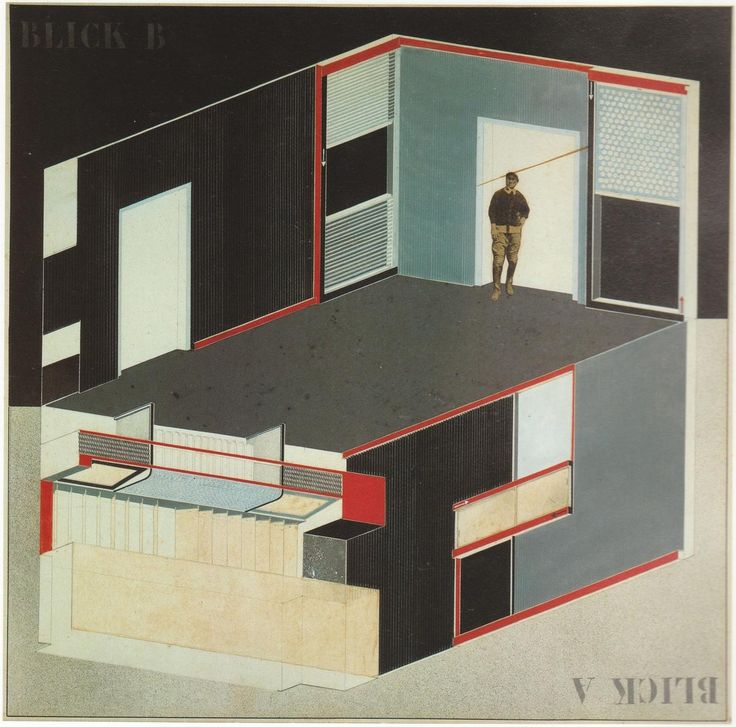 "El Lissitzky's ""Cabinet of Abstraction"""