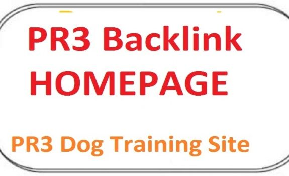 I will publish your link on my PR3 Dog Training Site.Your link will be placed on the homepage of my PR3 Dog Training Site. which will stay permanently. To build your link order me. 100% guarantee of PR3 Dog Training Site. No doubt you are going to get a high pr backlink of PR3 Dog Training Site