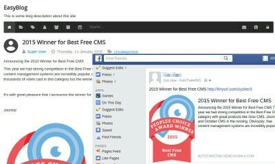 AutoTweetNG for EasyBlog - AutoPosting from Joomla! and EasyBlog