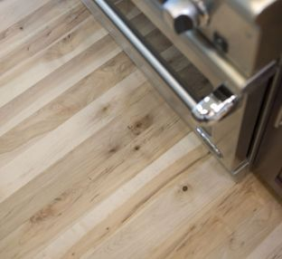 Carlisle Wide Plank Floors Brown Maple Solid Wood Floors In A Commercial  Kitchen. The Quality Of A Carlisle Floor Is Matched Only By That Of The  Customer ...