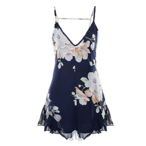 Cute Floral Playsuit available now at Ruby Liu! ♡ http://rubyliuboutique.com/collections/jumpsuits