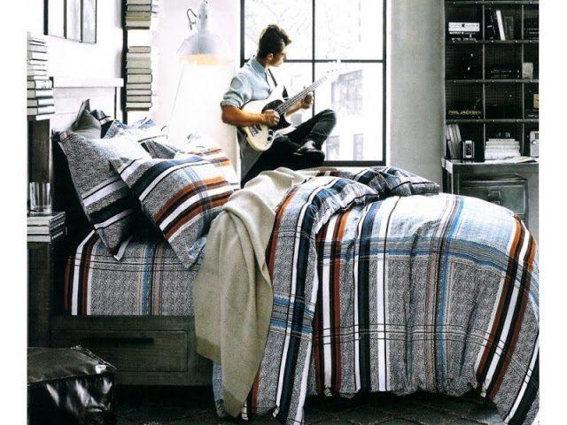 Lenjerie de pat cu 4 piese din bumbac satinat