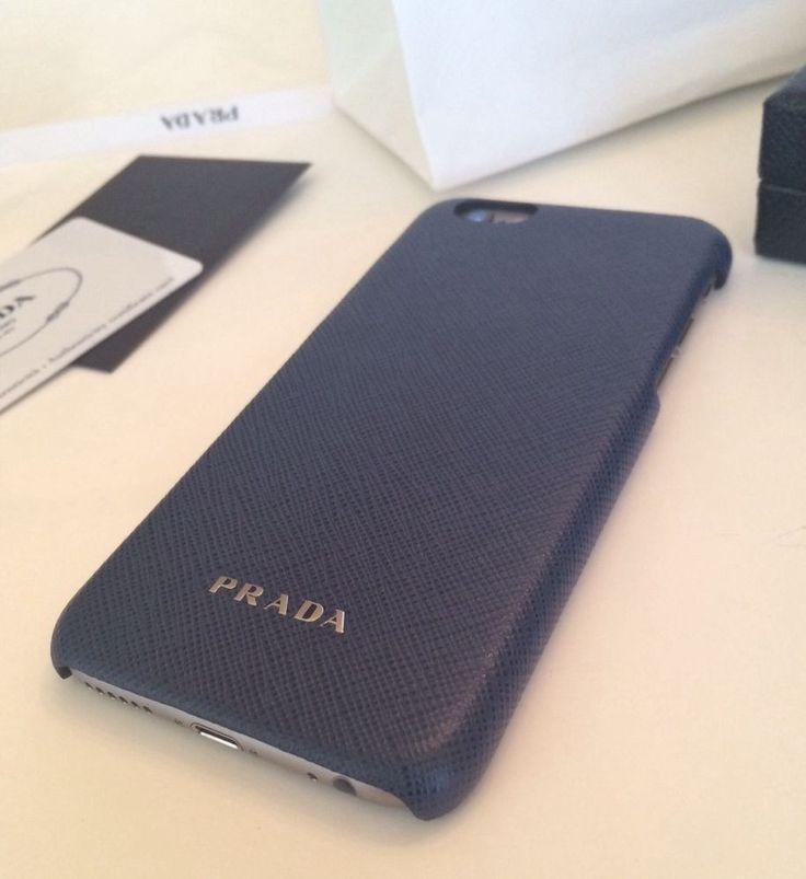 Prada Milano iPhone 6 Case Baltic Blue Saffiano Leather just ...