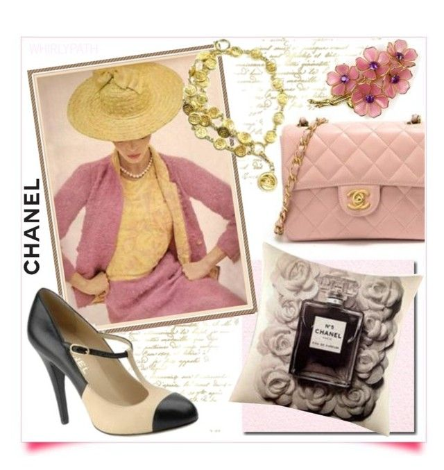 Vintage Chanel! by whirlypath on Polyvore featuring Chanel and vintage
