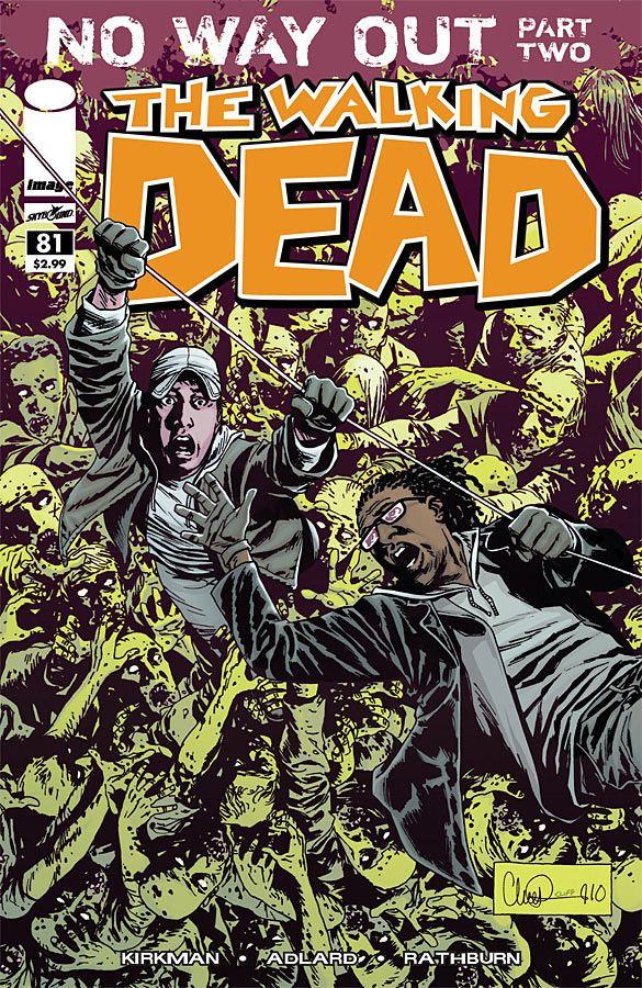 walking dead 126 cbr  comics