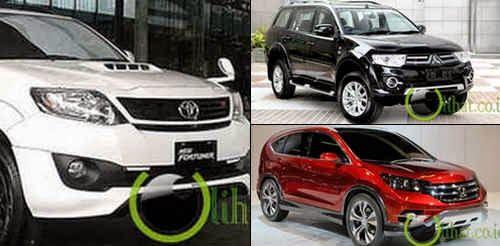 5 Mobil SUV yang paling Terlaris di Indonesia Tahun 2014