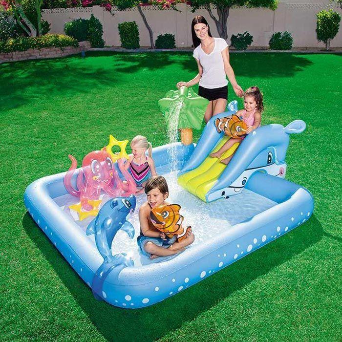 Piscina Gonfiabile Per Bambini Bestway 53052 Acquario Gioco Play
