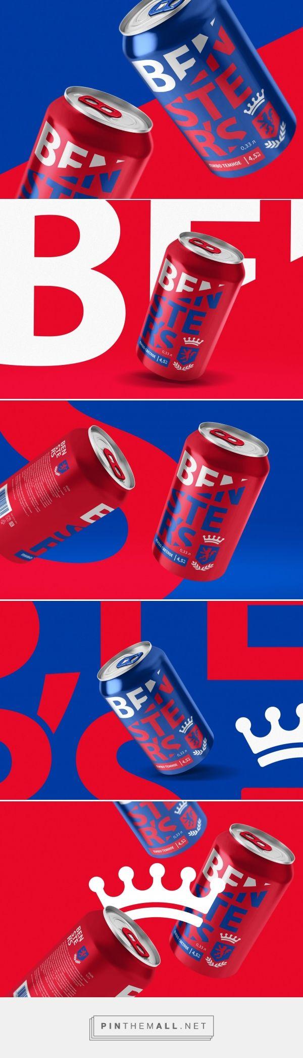 Benster's Beer - Packaging of the World - Creative Package Design Gallery - http://www.packagingoftheworld.com/2017/11/bensters-beer.html