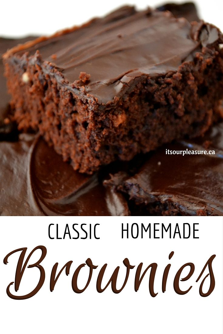 Chocolatey goodness… Just like mom used to make. These brownies are super easy to make and even easier to eat!