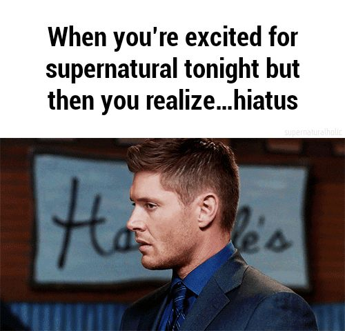 dean winchester, supernatural, and hiatus kép