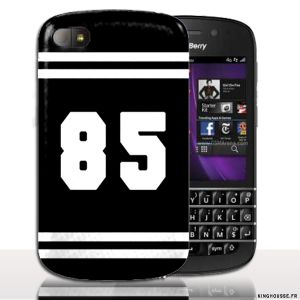 Coque BlackBerry Q10 | Design Numero 85 | Coque de protection arriere