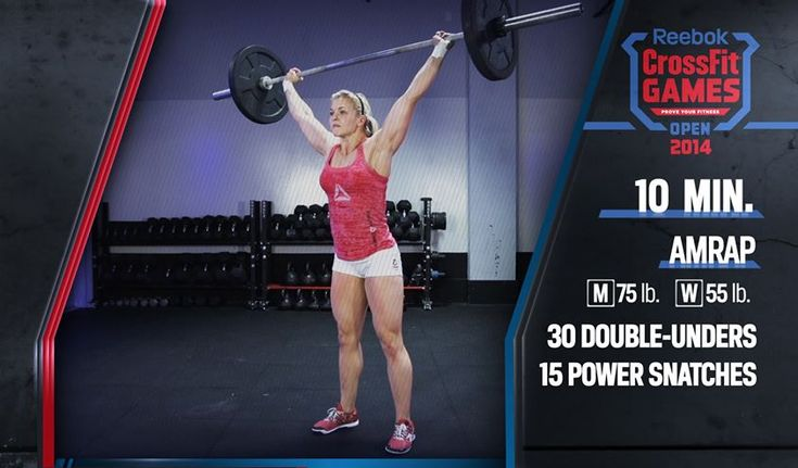 CrossFit Open 14.1 Workout Announced