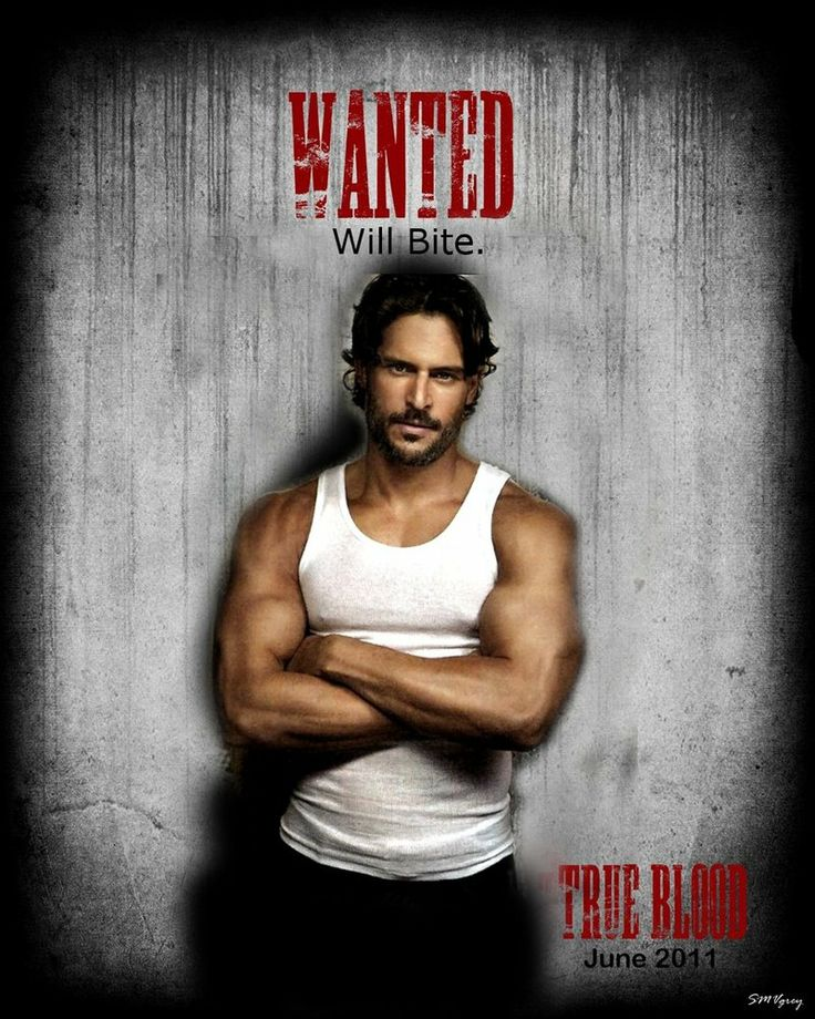 Alcide Herveaux can be my Packmaster anytime. Joe Manganiello