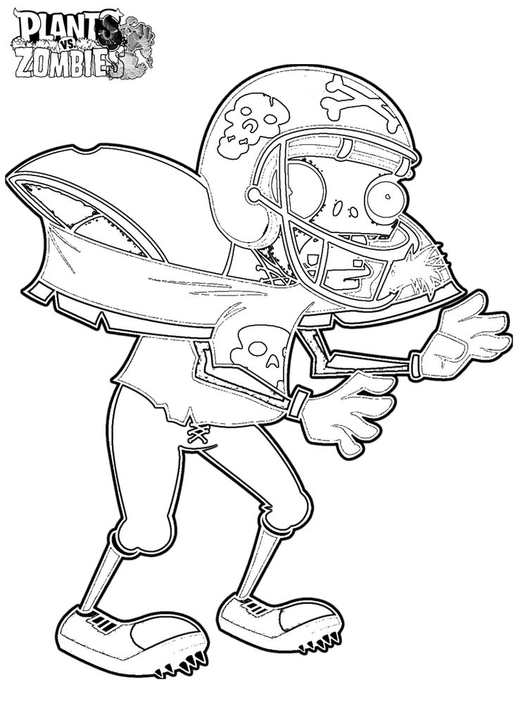 Zombies garden warfare 2 coloring pages coloring pages for Free printable zombie coloring pages